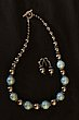Blue and Gray Shell Pearls with Silver- Pamela Bohling.jpg