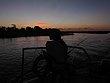 Stacy enjoying sunset after fishing in Namibia.jpg
