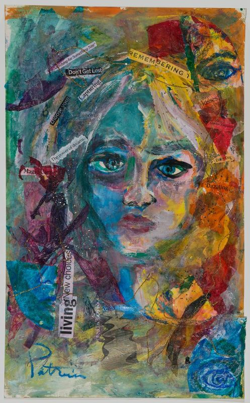 Patricia Reed- Mixed media collage.jpg :: Collage