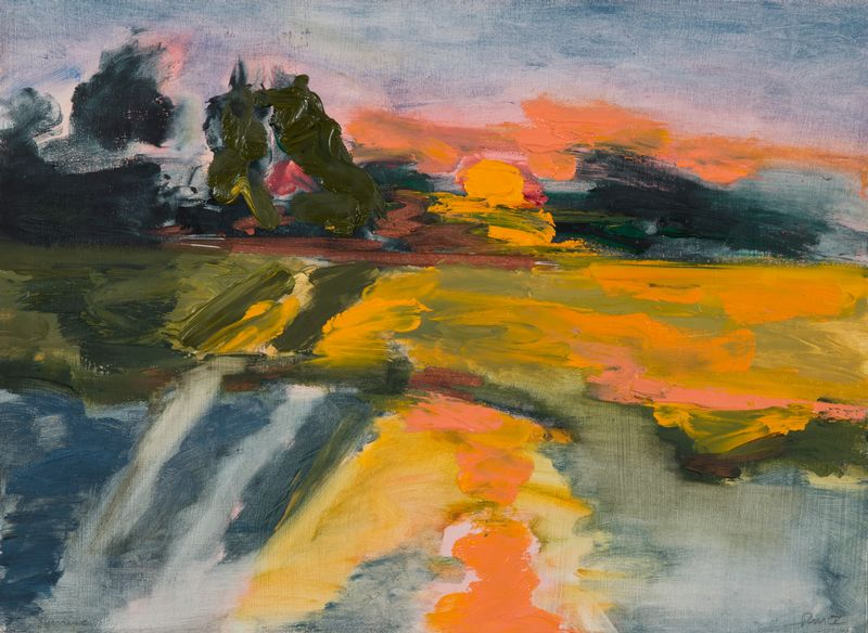Ruth Mordecai -oil-SUNSET.jpg