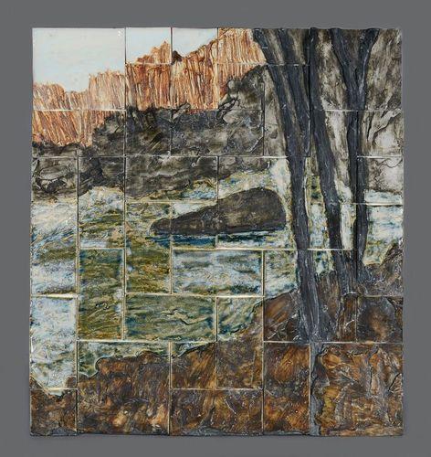 Marty Morgan- porcelain wall hanging -Waterfall.jpg