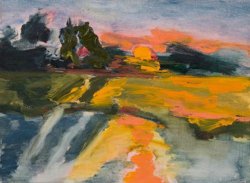 Ruth Mordecai -oil-SUNSET.jpg