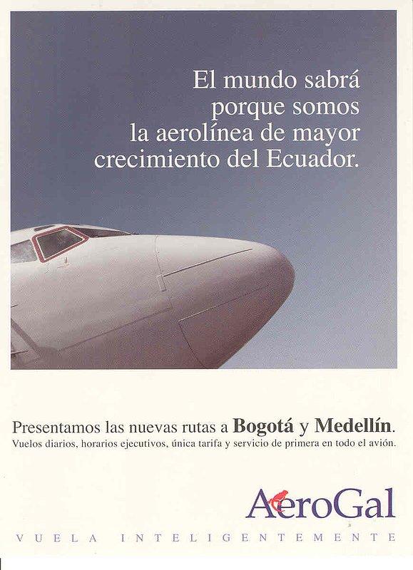AeroGal B737 AI 4.jpg :: AeroGal, Ecuador
