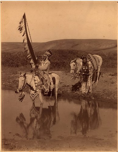 MISCELLANEOUS 9-20 Two Indians at river  c. 19291.jpg