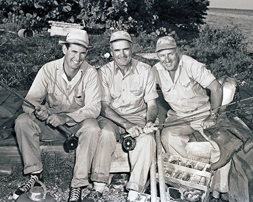 celebrities (2-01LR) Ted Williams with CCE and Joe Brooks in Florida Keys.jpg