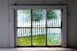Window View of White Picket Fence.jpg