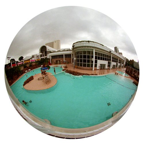 Pool-Hong Kong-9 Inch Circle- Printed With Archival Paper And Ink-Edition 5.jpg
