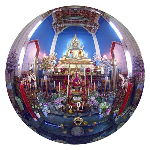 Temple-Bangkok-9 Inch Circle- Printed With Archival Paper And Ink-Edition 5.jpg