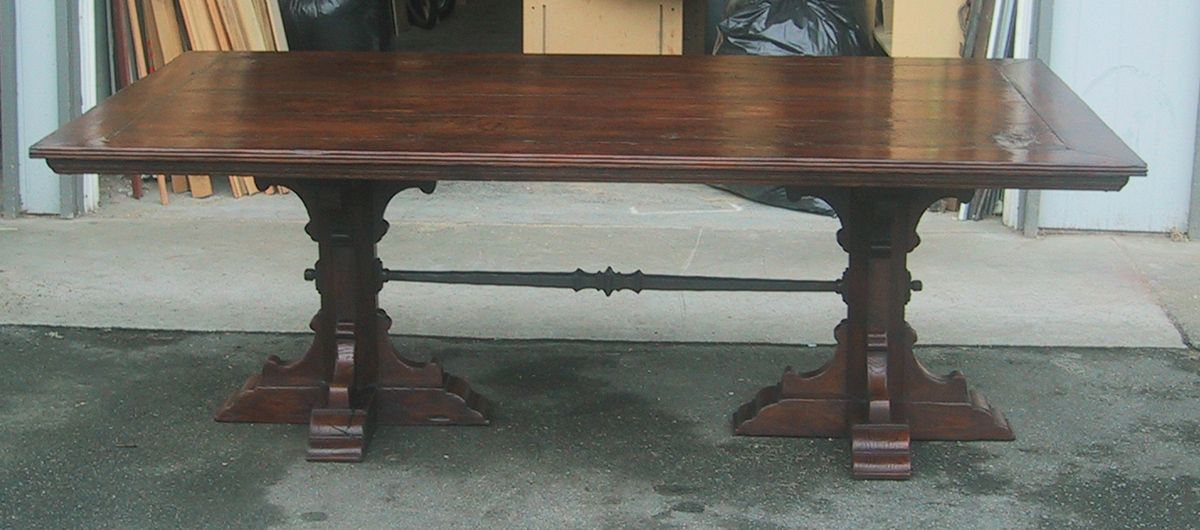 Reproduction Tudor Dining Table Jpg