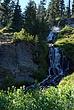 Vidae Falls in Crater Lake 2-031 Taken 8-10-08.jpg