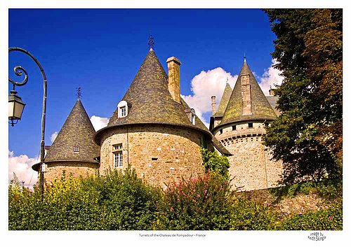 Turrets of the Chateau of Pompadour.jpg