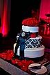 Bling Cake stand red roses1.jpg