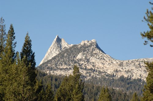 Cathedral Peak from Tuolumne Meadows - Yosemite NP  10-29-06_102.jpg