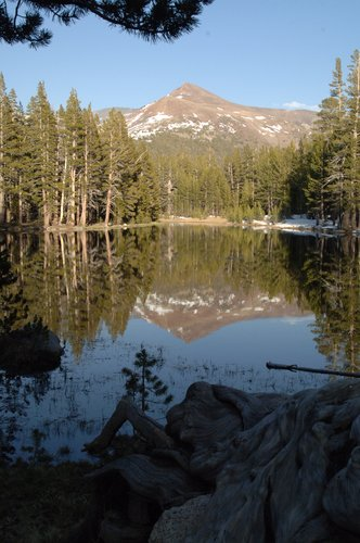 Mount Gibbs in Siesta Lake - Yosemite NP  5-19-07_199.jpg