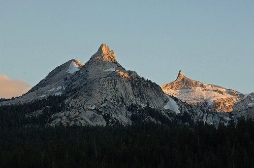 Unicorn Peak and the Cockscomb - Yosemite NP CA 8-27-11_037.jpg