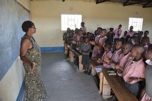 Classroom at a school near Masai Mara NP Tanzania D5200 570 11-7-14.jpg