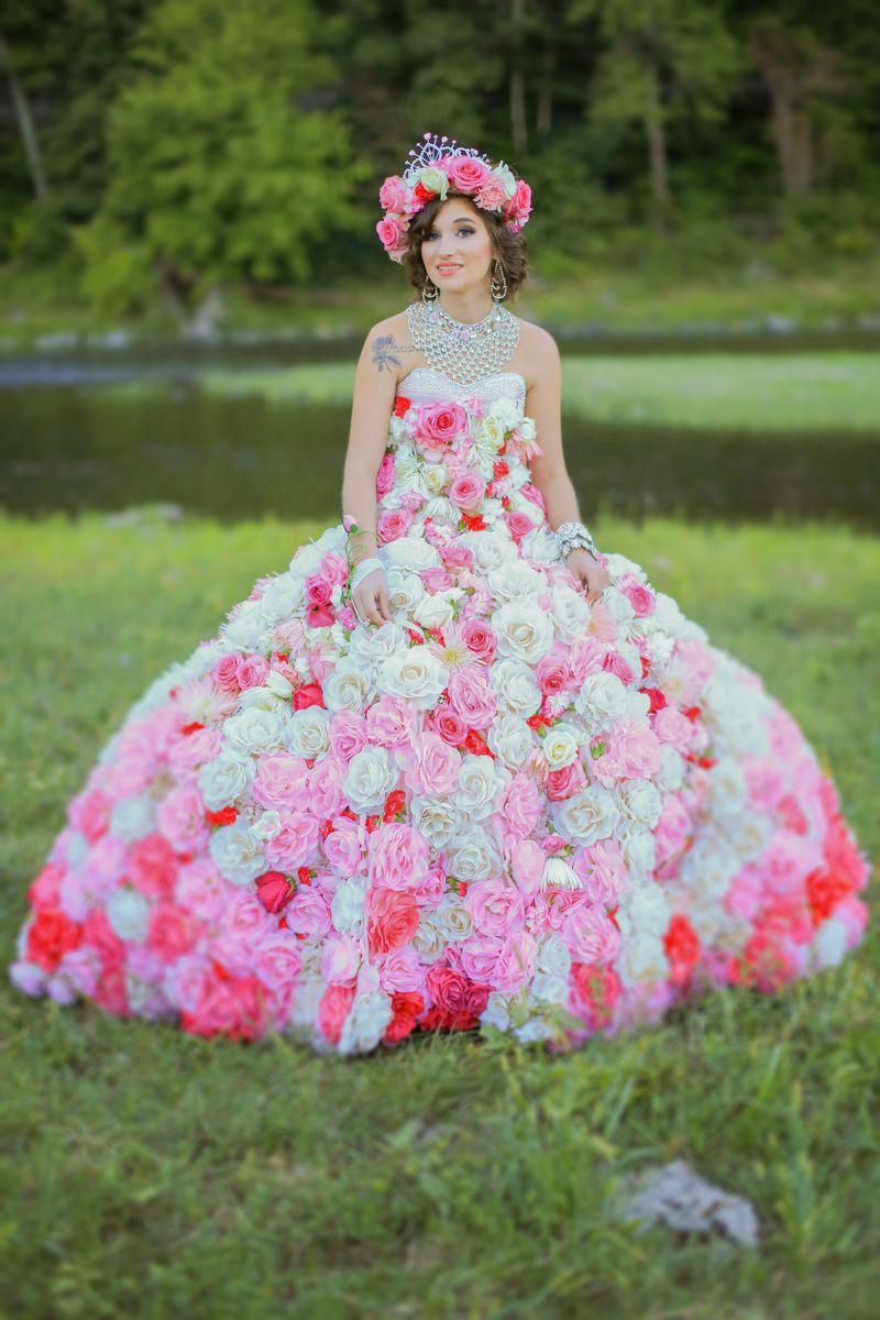 Big Fat Gypsy Wedding.Maquayla Flower Dress In Field My Big Fat American Gypsy Wedding