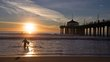 Manhattan Pier-173 sunset surfer.jpg