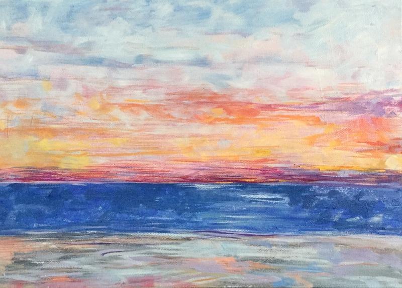 Shimmer Light.jpg :: Oil on canvas