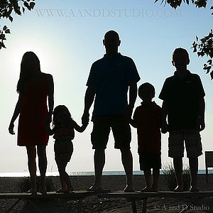 Family portraits with A and D Studio Mentor, Ohio Photography