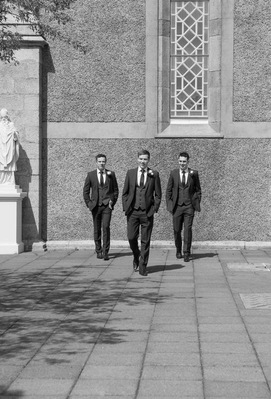 Groomsmen-Arrival.jpg :: Here at Andrew Mackin Photography, our aim is to make your wedding day as relaxing & memorable as possible. We'll get to know you before your big day to find out your likes, needs & wants. We know that every couple & wedding are different, therefore we strive to personalise & customise every part of your day, from morning preparations, to the cutting of the cake & beyond if required.