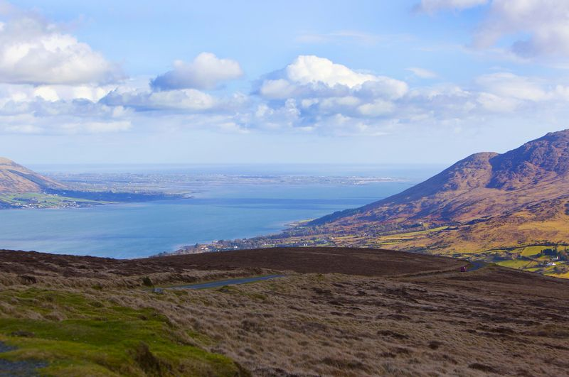 View from Anaverna Mountain toward Carlingford lough.jpg