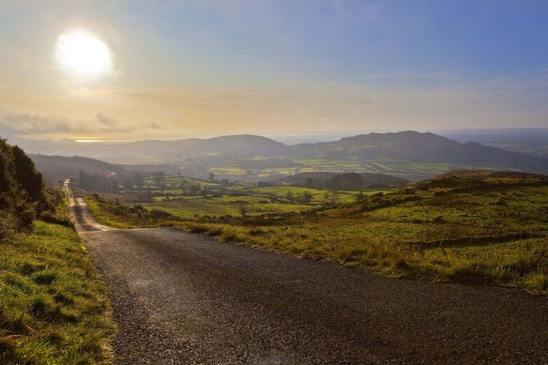 West side of Slieve Gullion looking toward Dundalk Bay in the distance..jpg