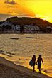 Lovers at Sunset beach walk Grand Case - Saint Martin (intensify).jpg