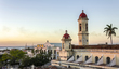 Cienfuegos-Cathedral towers at sunset.jpg