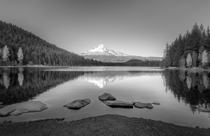Trillium Lake in Oregon.