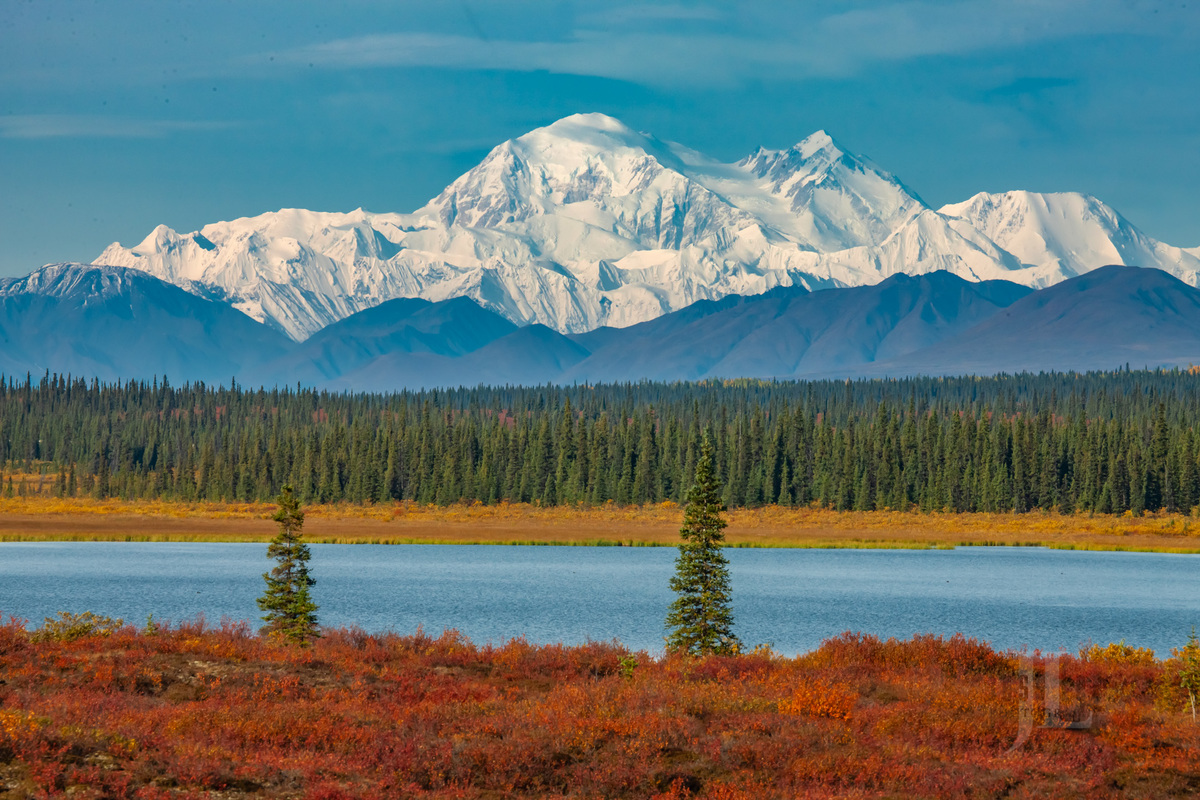 Autumn Tundra and Denali