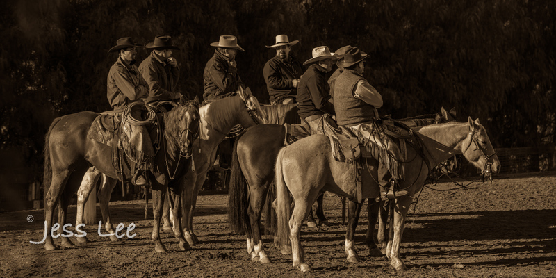 BlackandWhite-cowboy-photos-1349.jpg :: Photography of Cowboys processed in Black and White.
