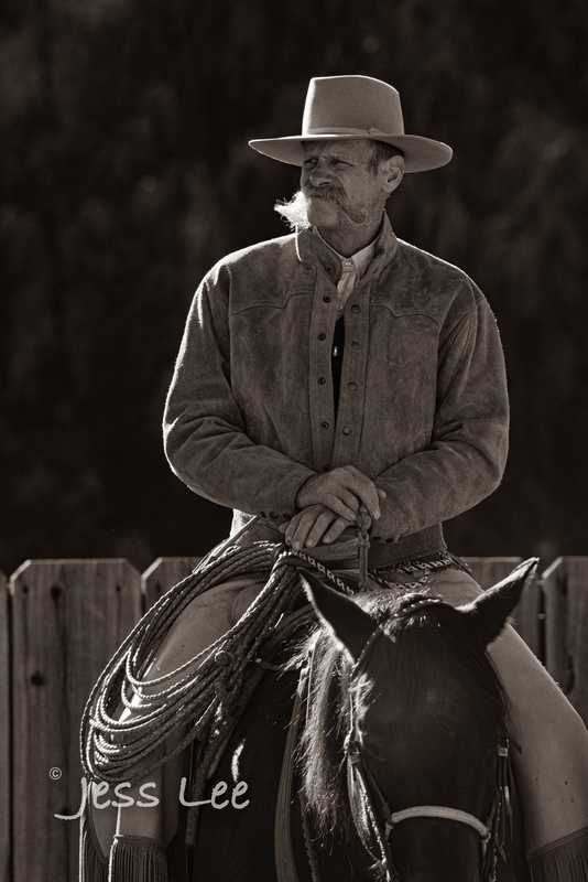 BlackandWhite-cowboy-photos-1399.jpg :: Photography of Cowboys processed in Black and White.
