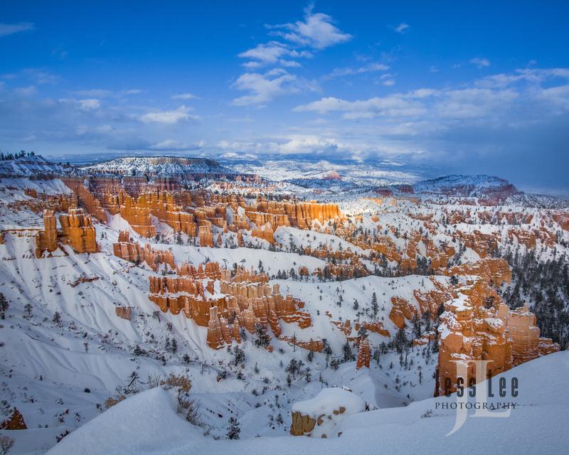 Bryce  Winter Snow-0684.jpg :: Red Reocks and hoodos Utah photo