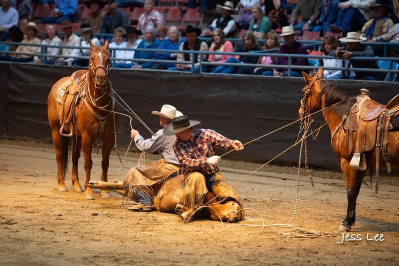Californio-vaquaro-photos-1795.jpg :: Photos of the Califorinos Ranch roping, with some of the best Vaquero style cowboy in the world. Know as buckaroos, califorino's, and Vaqueros.