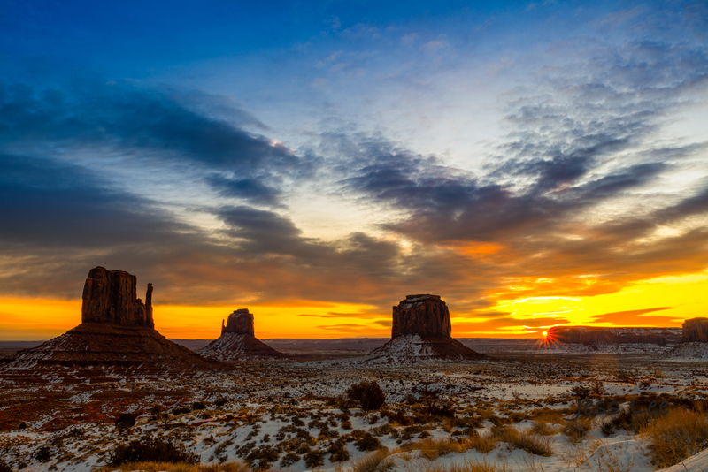 Monument-Valley-Sun-burst-Limited-Edition_JLE9763.jpg :: Sunburst Sunrise Monument Valley, Utah, Arizona, limited edition fine art collectors print.