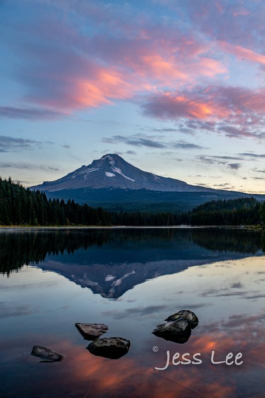 Mt-Hood-Sunrise_JRL6133-3(1).jpg :: Autumn Limited Edition Fine Art Photo Print Sunrise on Mt Hood