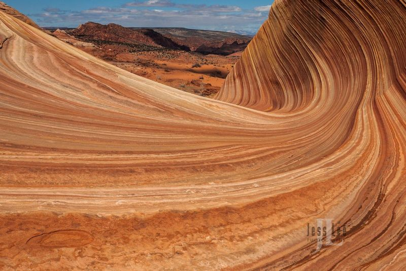 Sweeping-wave-pattern_LEE8803.jpg :: Wave Limited edition fine art collector photography prints of the desert Southwest for sale