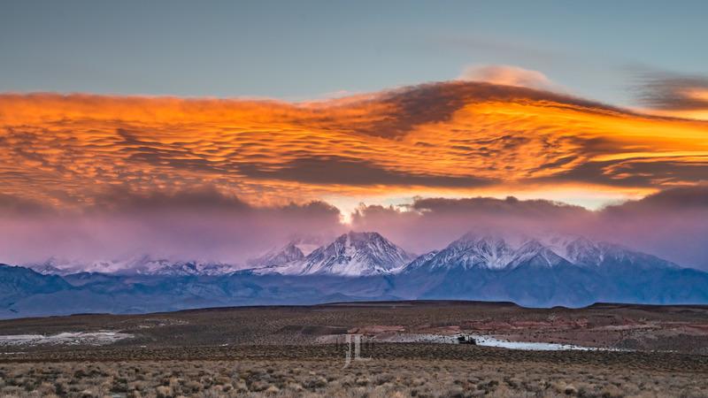sierra-sunset-0449.jpg :: Sierra mountains california sunset photo