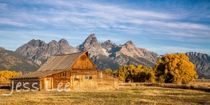 Mormon Row Barn Grand Teton National Park