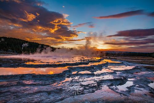 Yellowstone Teton Fall