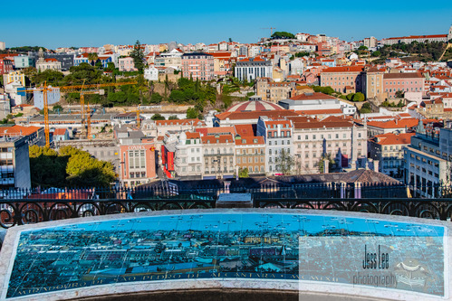 Lisbon Portugal Map