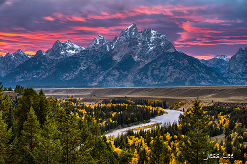 Teton Fall Yellowstone photo tour