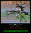 OR132 Tranquil Threesome - Wood Ducks Original(1).jpg