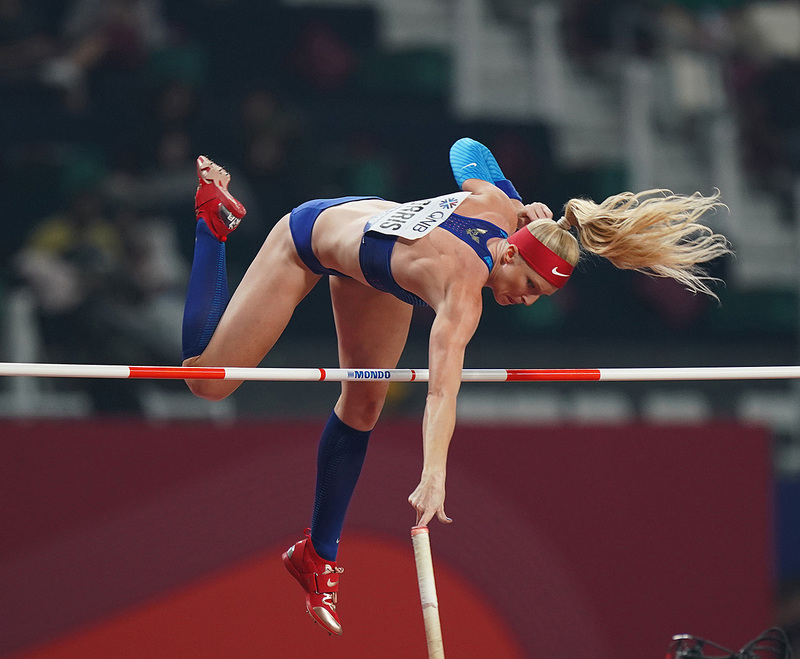Comp.jpg :: in action during IAAF World Championships at Khalifa International Stadium Doha Qatar on September 29 2019. GS.Media