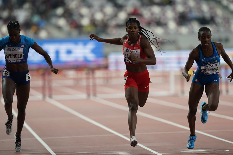 DSC01894(1).jpg :: in action during IAAF World Championships at Khalifa International Stadium Doha Qatar on October 01 2019. GlennSports.