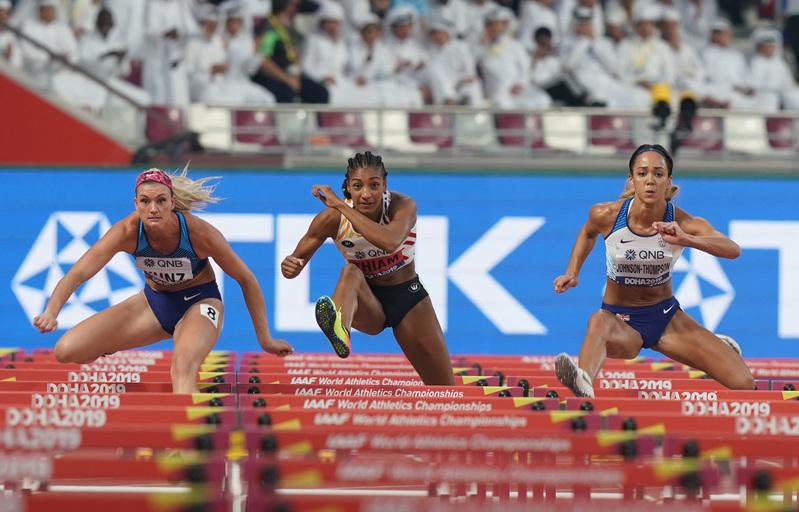 DSC02519(1).jpg :: in action during IAAF World Championships at Khalifa International Stadium Doha Qatar on October 02 2019. GlennSports.