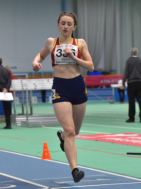 GGS_0002.jpg :: in action during the Welsh Junior Athletics Championships 2019 at N.I.A.C Cardiff United Kingdom on February 02 2019 Graham / GlennSports