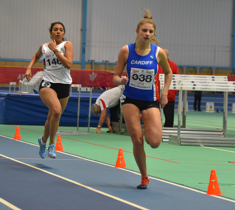 GGS_0005.jpg :: in action during the Welsh Junior Athletics Championships 2019 at N.I.A.C Cardiff United Kingdom on February 02 2019 Graham / GlennSports