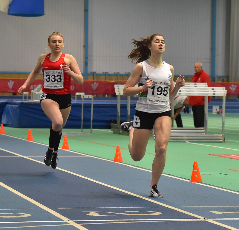 GGS_0006.jpg :: in action during the Welsh Junior Athletics Championships 2019 at N.I.A.C Cardiff United Kingdom on February 02 2019 Graham / GlennSports